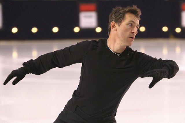 Elvis Stojko a gagné trois médailles d'or aux... (photo archives La Presse)