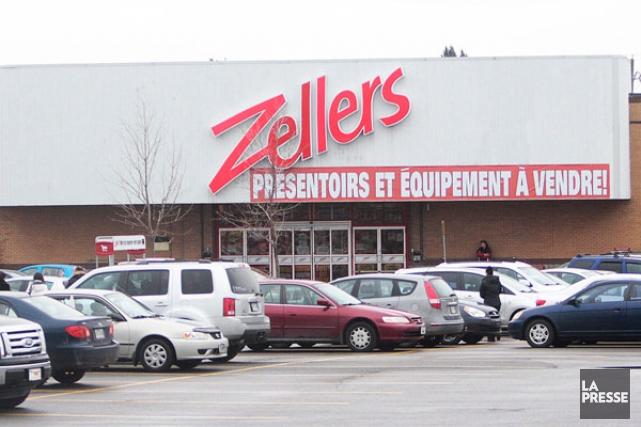 Le magasin Zellers des Galeries Gatineau fermera ses... (Étienne Ranger, LeDroit)