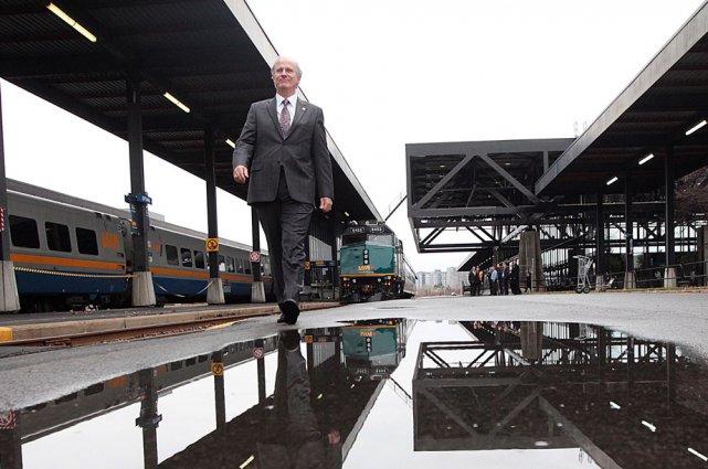 Le président de VIA Rail Canada, Marc Laliberté,... (Étienne Ranger, LeDroit)