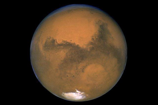 Mars... (Photo AFP)