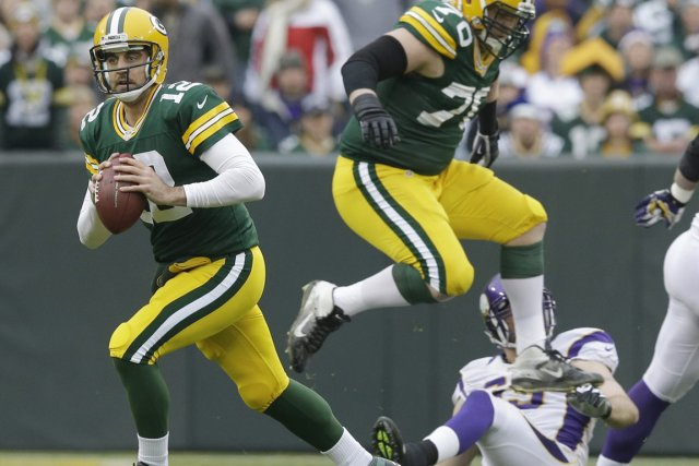 Aaron Rodgers (à gauche) et les Packers font... (Photo: AP)