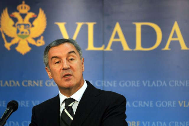 Milo Djukanovic... (Photo: AFP)