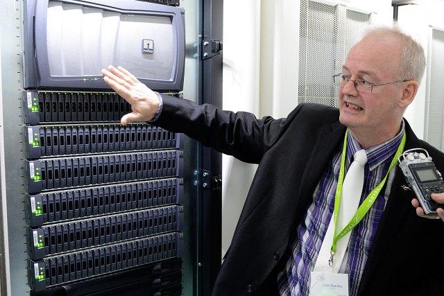 Le directeur du centre de données de TELUS... (Collaboration spéciale Rémi Sénéchal)