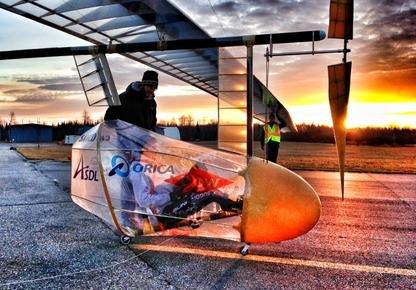 Un avion à propulsion humaine conçu par une... (Photo UdeS, Michel Caron)
