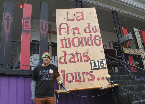 Chef cuisinier, Francis Vallée suscite la controverse à Roberval. ... (Photo Isabelle Tremblay)
