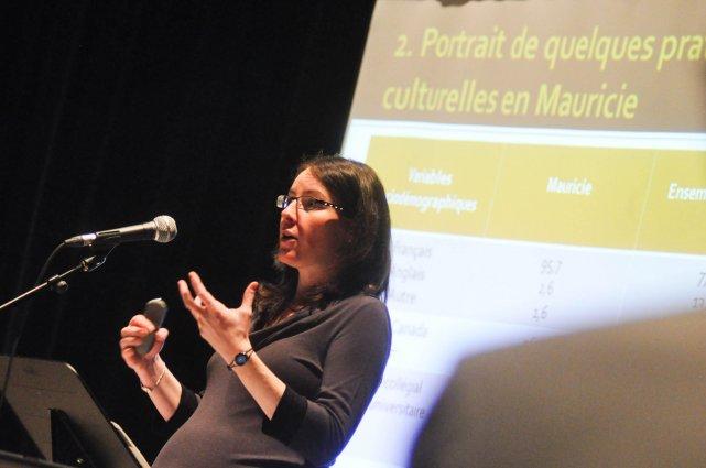 Marie-Claude Lapointe, professeure au département d'études en loisir,... (Photo: Émilie O'Connor)