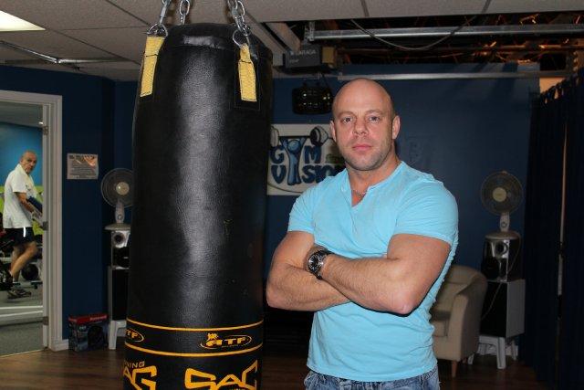 Pascal Duchesne, propriétaire du Gym Vision Fitness à... (Photo: Audrey Tremblay)