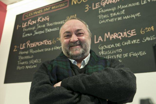 L'Armoire à glaces, un café-bistro de la rue... (Photo: Hugo-Sébastien Aubert, La Presse)