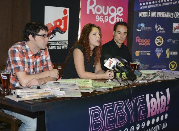 Les producteurs de la deuxième édition du Bebye... (Photo Jeannot Levesque)