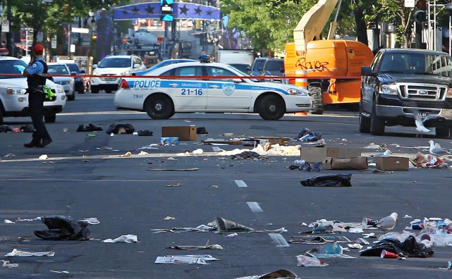 Une balle perdue a coûté la vie au... (Photo: La Presse)