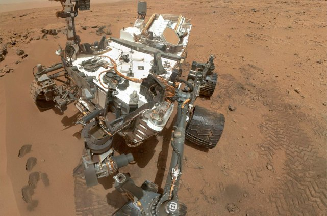 Le robot Curiosity.... (Photo Reuters)