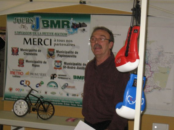 Avec les Jour J-BMR, l'organisateur Normand Legault veut... (Jessy Laflamme, LeDroit)