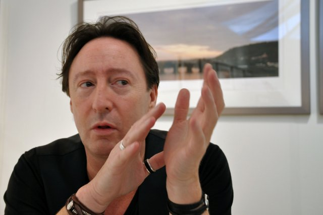 Julian Lennon, fils aîné du  légendaire Beatle... (Photo: AFP)