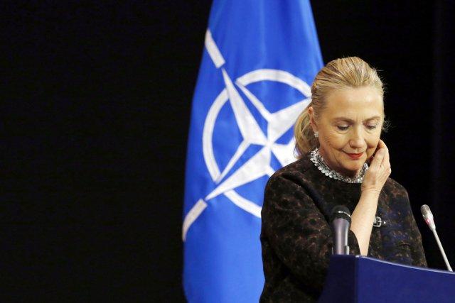 La secrétaire d'État américaine Hillary Clintona débuté sa... (PHOTO KEVIN LAMARQUE, REUTERS)