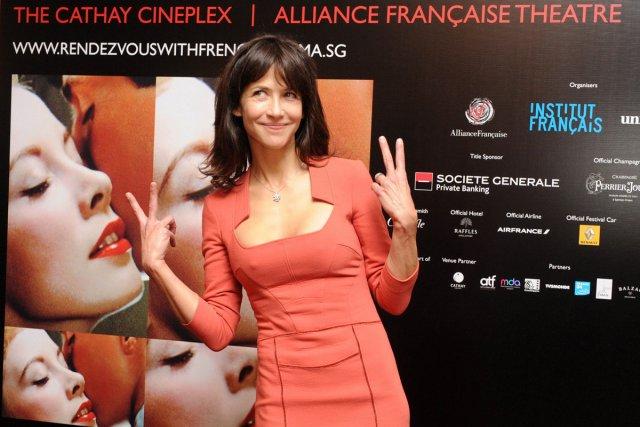 Sophie Marceau est à Singapour afin de promouvoir... (Photo: AFP)