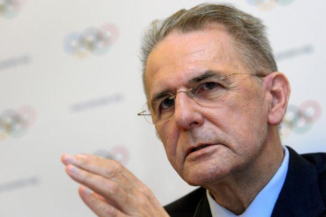 Le président sortant du Comité international olympique (CIO),... (Photo : archives AFP)