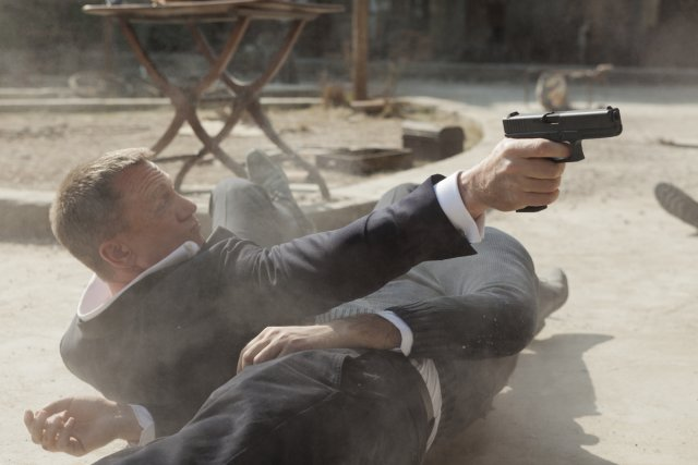 Skyfall... (Photo: fournie par Columbia Pictures)