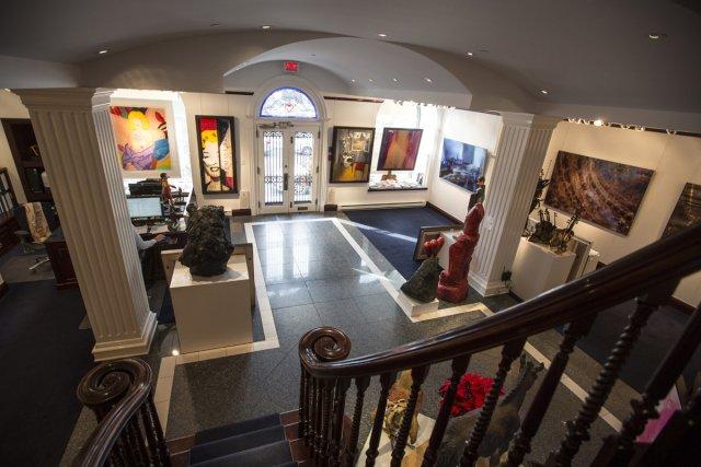 La Galerie de Bellefeuille... (Photo: Olivier Pontbriand, La Presse)