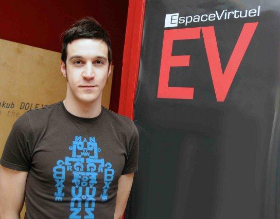 Sébastien Harvey, directeur du centre d'artistes Espace Virtuel.... ((Archives))