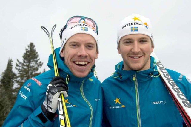 Les Suédois Emil Jönsson et Teodor Peterson formeront... (Le Soleil, Steve Deschênes)