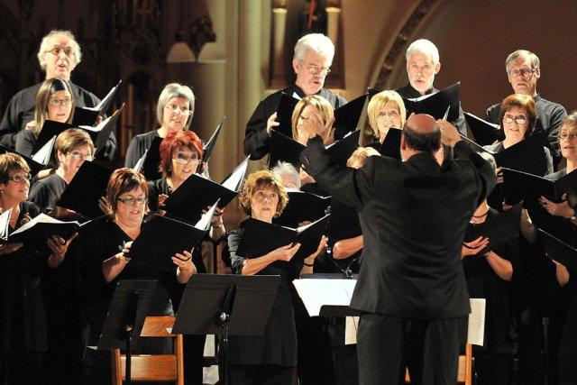 Le choeur Pro-Musica présentera son concert de Noël... (Photo: Stéphane Lessard)