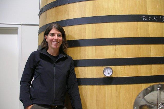 Isabelle Meunier, qui fait du vin en Oregon.... (Photo fournie par Isabelle Meunier)