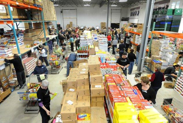La Guignolée est de retour et beaucoup de paniers de Noël seront distribués... (Archives La Tribune, Maxime Picard)