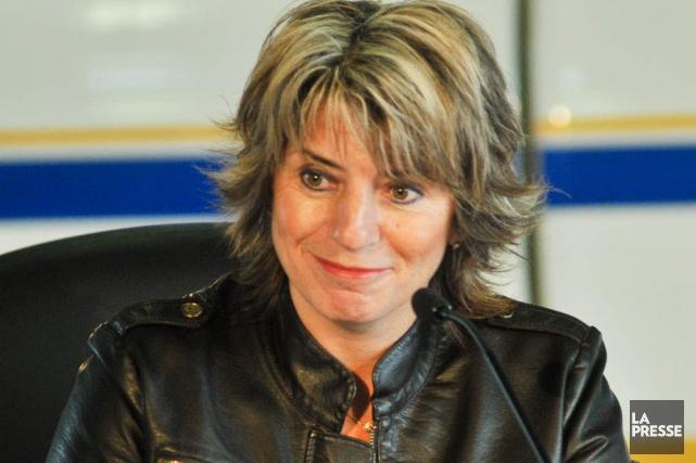 La députée de Trois-Rivières, Danielle St-Amand.... (Archives La Presse Canadienne)