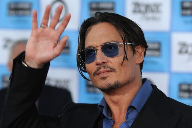 Johnny Depp... (Photo: archives AFP)