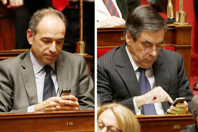 Dans un feuilleton politique, Jean-François Copé (gauche), 48... (PHOTO CHARLES PLATIAU, REUTERS)