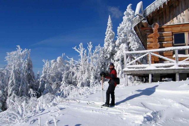 Randonnée de ski de fond dans le parc... (Anne Pélouas, collaboration spéciale)
