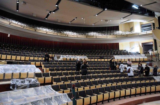 La salle du Théâtre Banque Nationale.... ((Photo Rocket Lavoie))