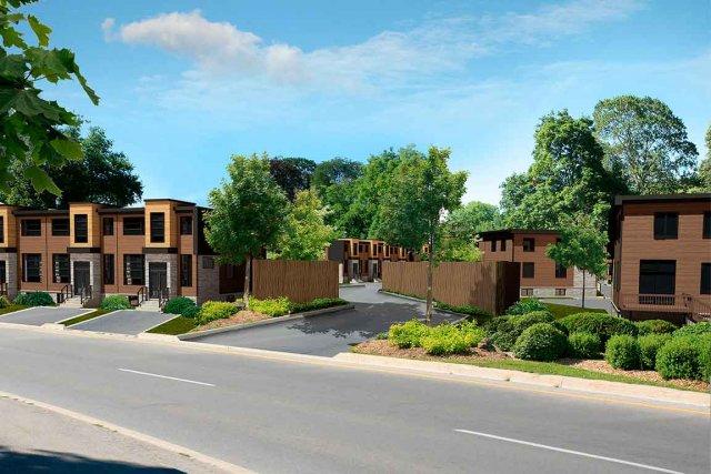 Les maisons de La Pointe verte seront construites... (Image fournie par Guillemette Propriétés)