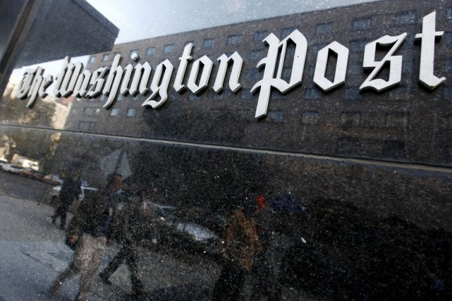 L'application du Washington Post sera pré-installée gratuitement sur la future... (PHOTO CHARLES DHARAPAK, ARCHIVES AP)