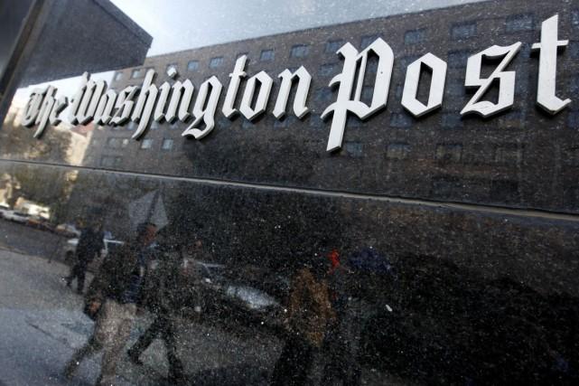 L'application duWashington Postsera pré-installée gratuitement sur la future... (PHOTO CHARLES DHARAPAK, ARCHIVES AP)