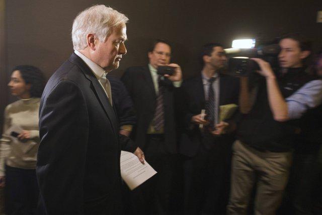 Donald Fehr, directeur de l'Association des joueurs, a... (Photo: Reuters)