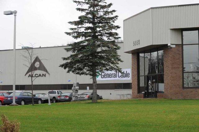 L'usine General Cable.... (Photo: Sylvain Mayer)