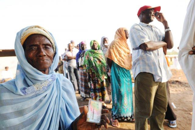 Quelque 14,7 millions de Ghanéens sont appelés à... (PHOTO PIUS UTOMI EKPEI, AFP)
