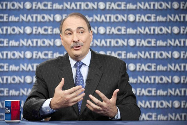 David Axelrod, un des principaux stratèges du président... (PHOTO CHRIS USHER, REUTERS/CBS NEWS)