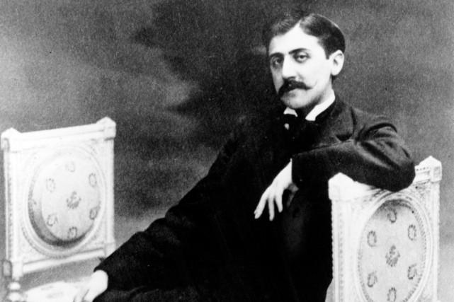 Marcel Proust... (PHOTO TIRÉE DU LIVRE L'ARCHE ET LA COLOMBE)