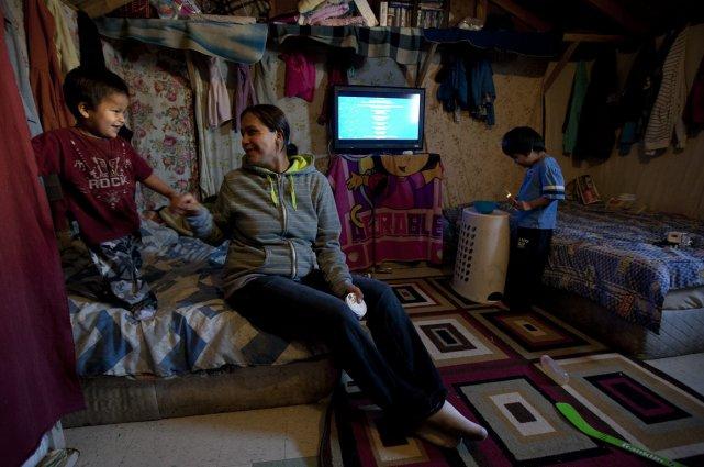 La situation est encore pire chez les autochtones,... (Photo archives La Presse Canadienne)