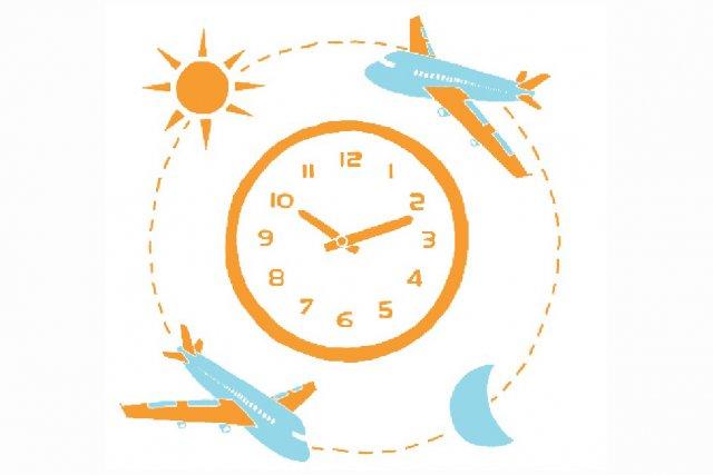 Faire une nuit blanche la veille du départ, dormir une heure une fois  arrivé à... (Illustration: Charlotte Demers-Labrecque, La Presse)