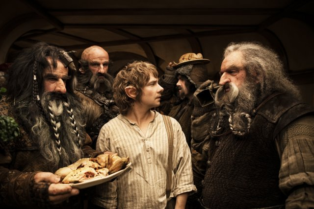 Image tirée du film The Hobbit... (Photo fournie par la production)