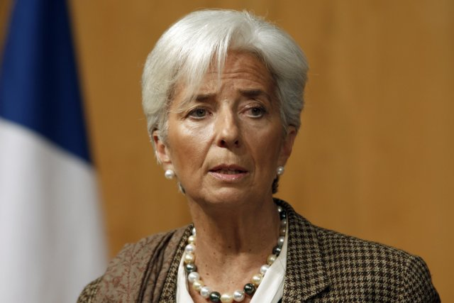 La directrice générale du Fonds monétaire international, Christine... (PHOTO CHARLES PLATIAU, REUTERS)