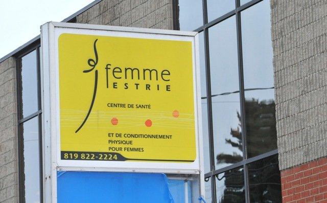 Le centre de mise en forme Femme Estrie a fermé ses portes le 6décembre «en... (Imacom, Maxime Picard)