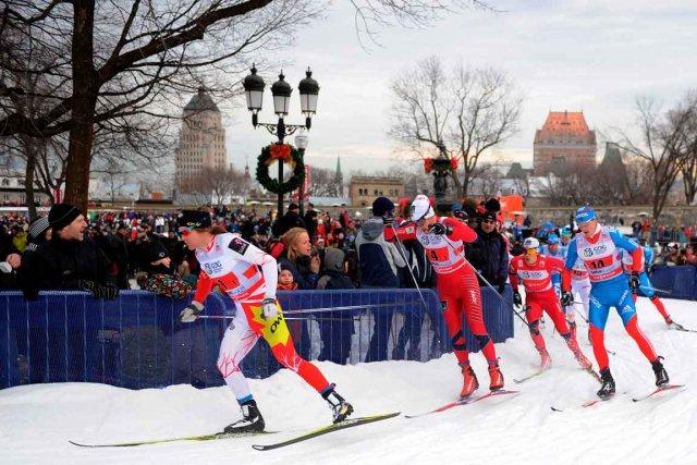 Avec la Coupe du monde de ski de... (Photo Le Soleil, Erick Labbé)