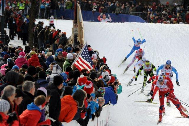 Le SprintQuébec a transformé les épreuves de ski... (Photo : Erick Labbé, Le Soleil)