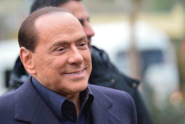 Silvio Berlusconi, âgé de 76 ans, avait annoncé... (Photo : Giuseppe Cacace, AFP)