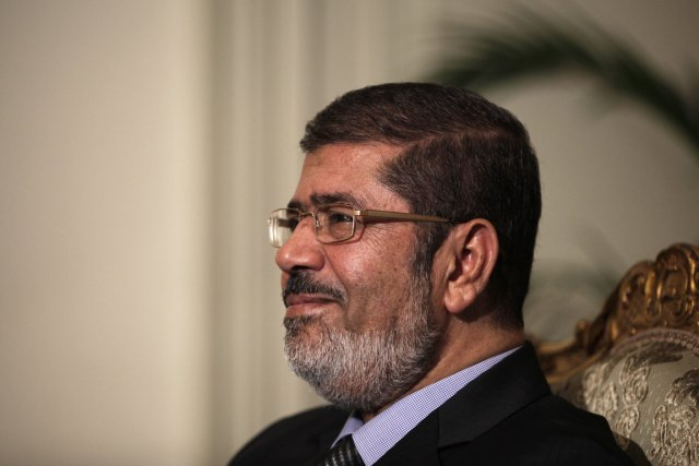 Mohamed Morsi... (Photo : Maya Alleruzzo, AP)