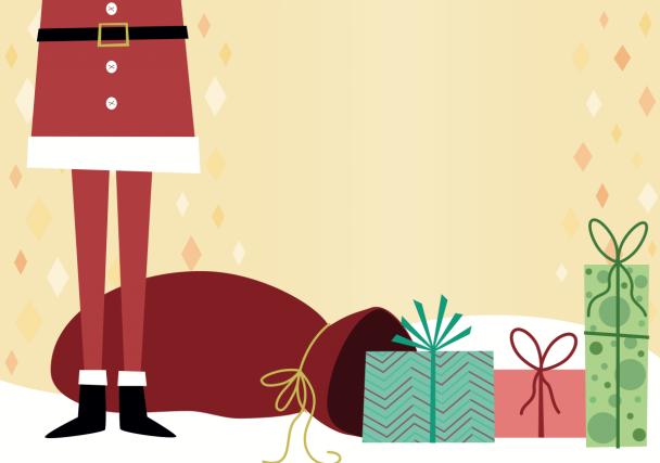 Quels beaux livres devraient se trouver dans la hotte du père Noël cette année?... (Illustration Le Soleil)